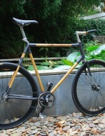 Bamboo Fixie Bicycle